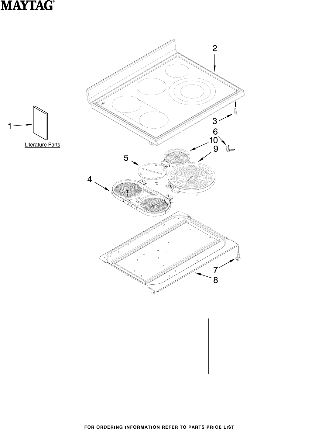 A Cooktop Stove Wiring