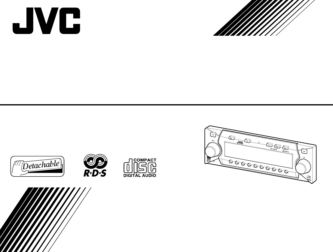Jvc Cd Player Kd Nx1r User Guide