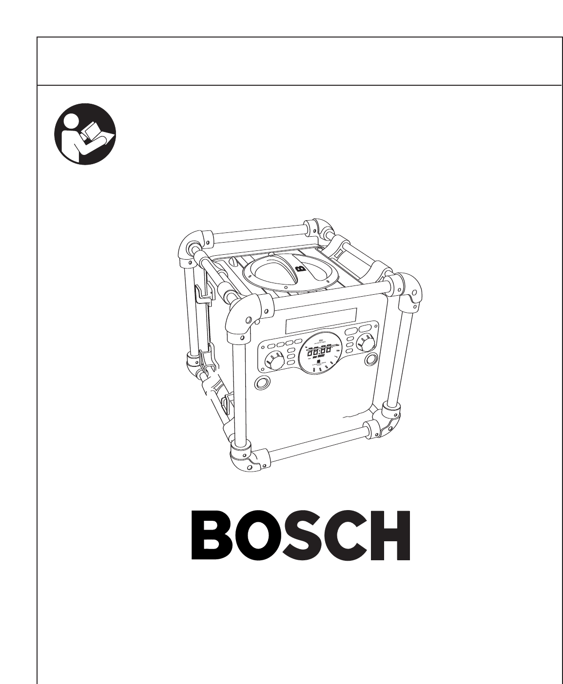 Bosch Appliances Portable Radio Pb10 Cd User Guide