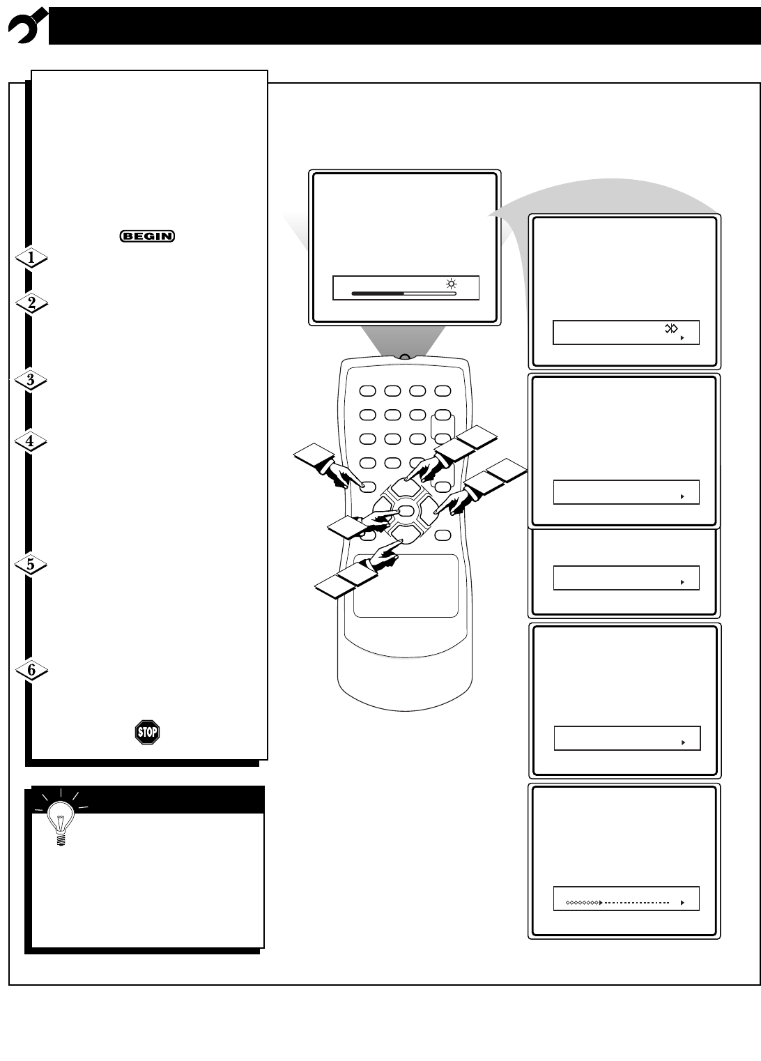 Page 12 Of Magnavox Crt Television 25i User Guide