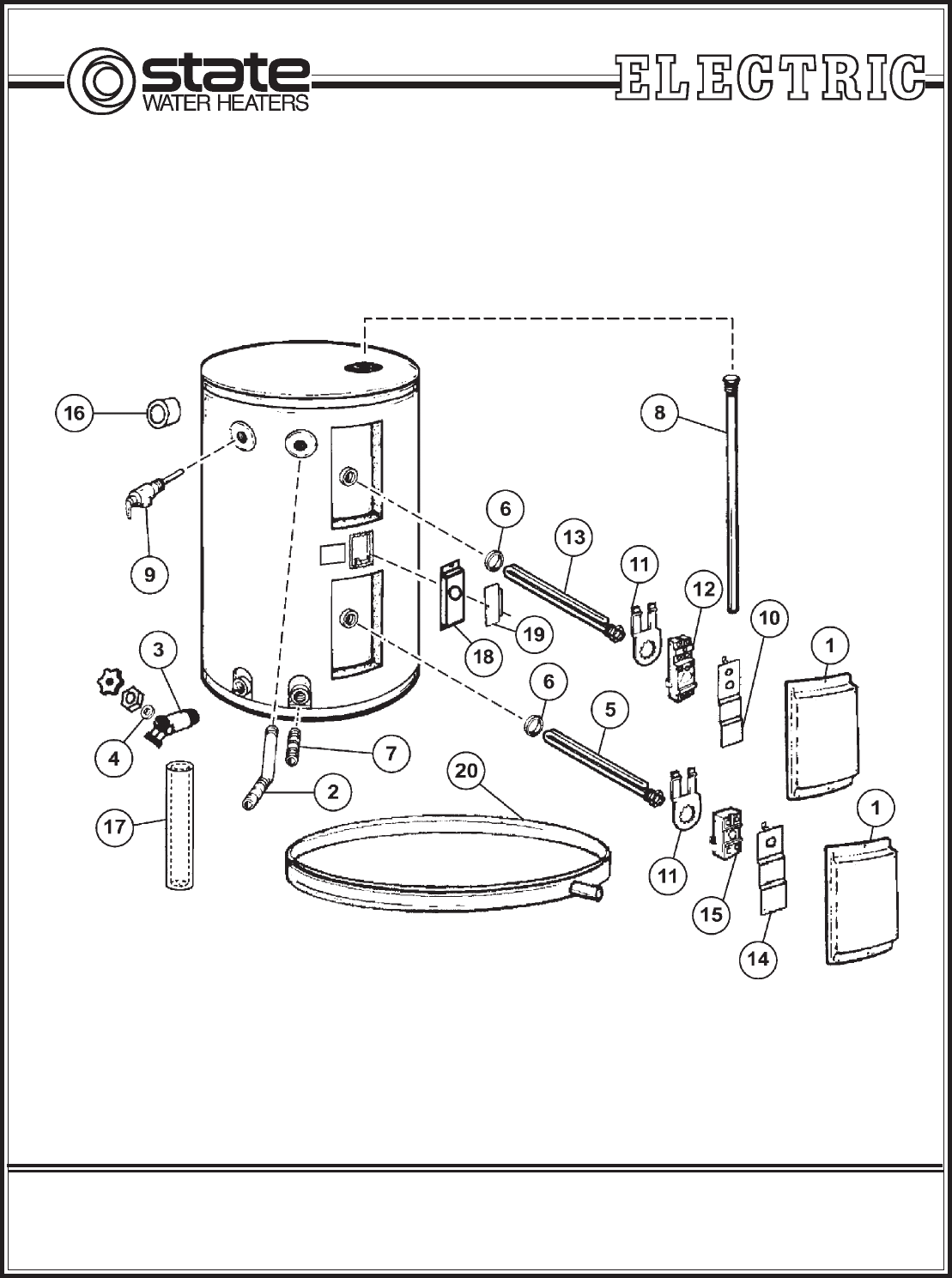 Us Water Heater Parts