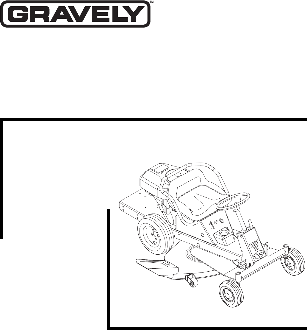 Gravely Manual