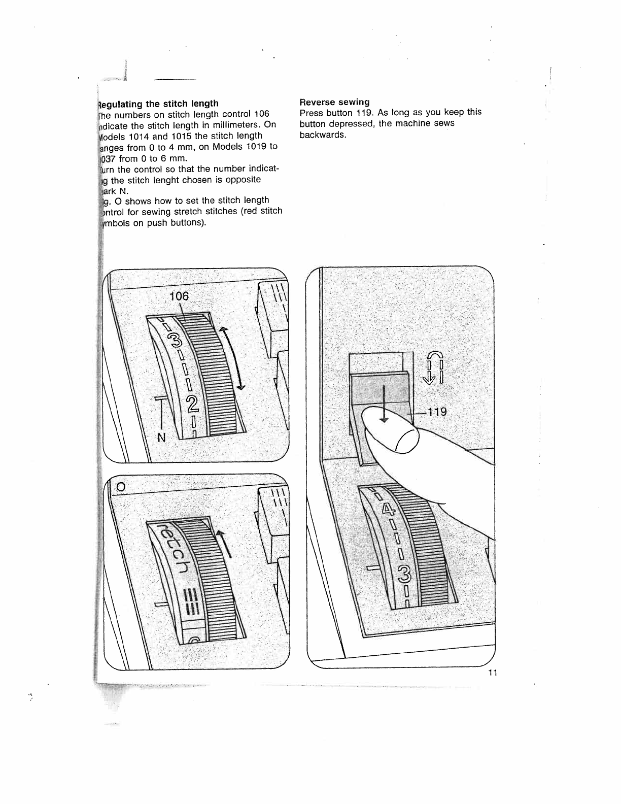 Page 15 Of Pfaff Sewing Machine User Guide