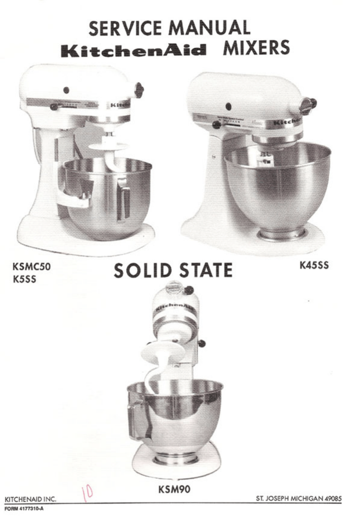 kitchenaid mixer model k5ss attachments rh pandarestaurant us kitchenaid k5ss owners manual KitchenAid Mixer K5SS Parts