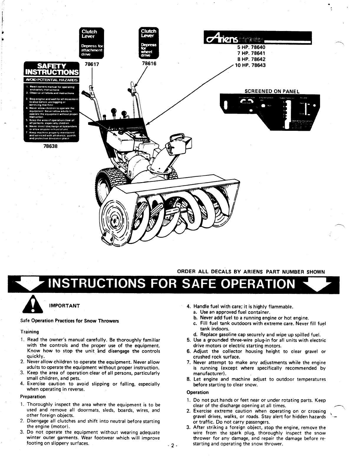 Toro Fuel Filter