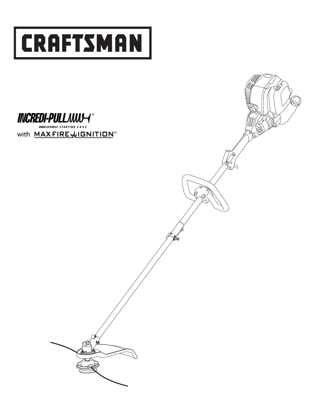 Craftsman Trimmer 316 User Guide