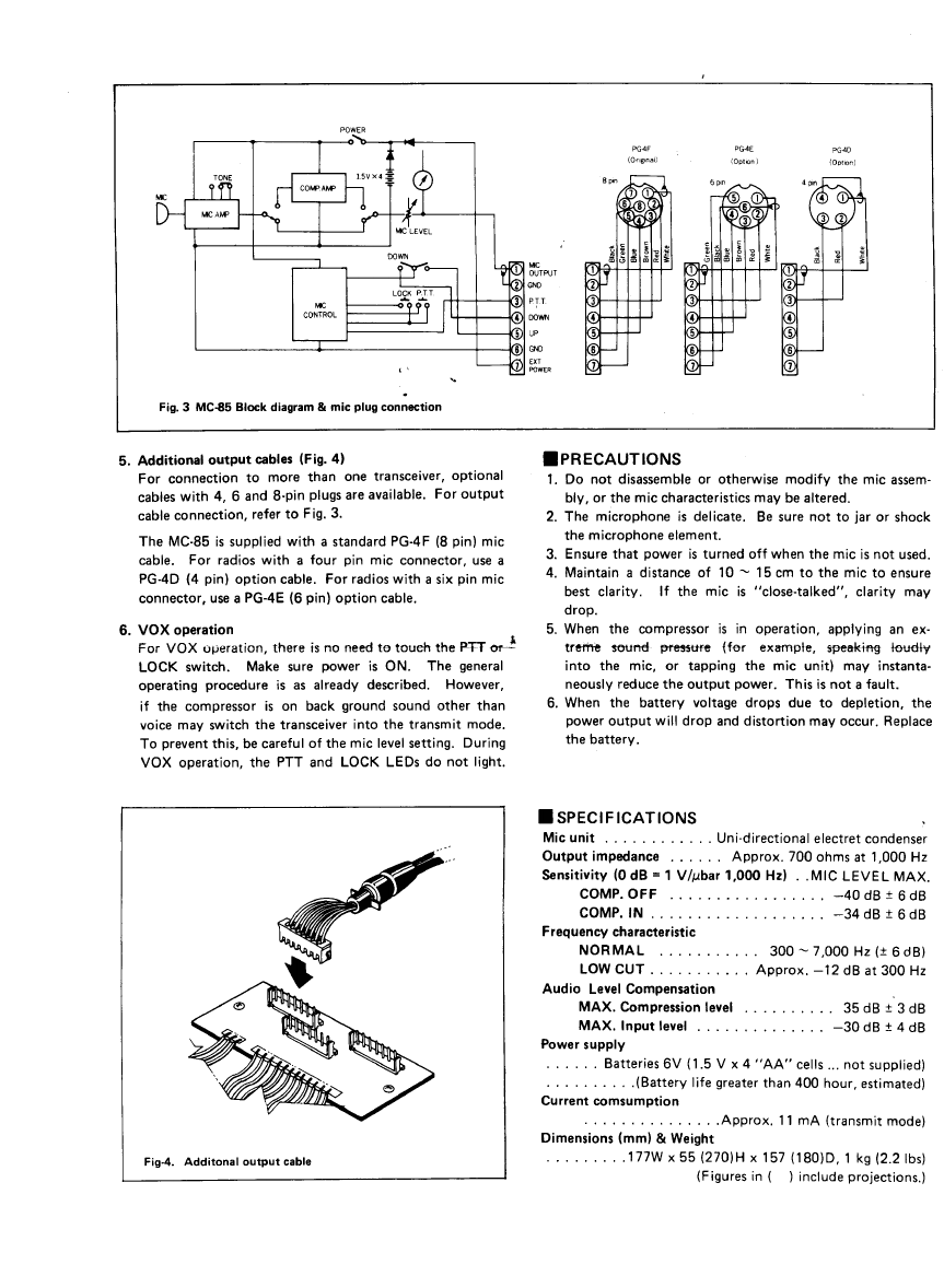Of 84 array page 3 of kenwood microphone mc 85 user guide manualsonline rh music manualsonline