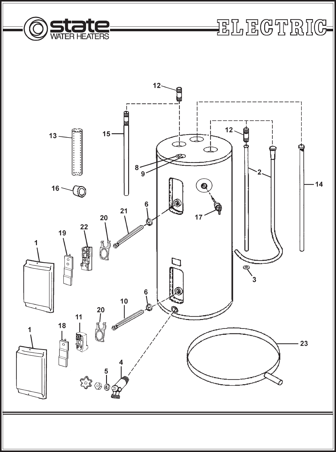 State Select Electric Water Heater Manual