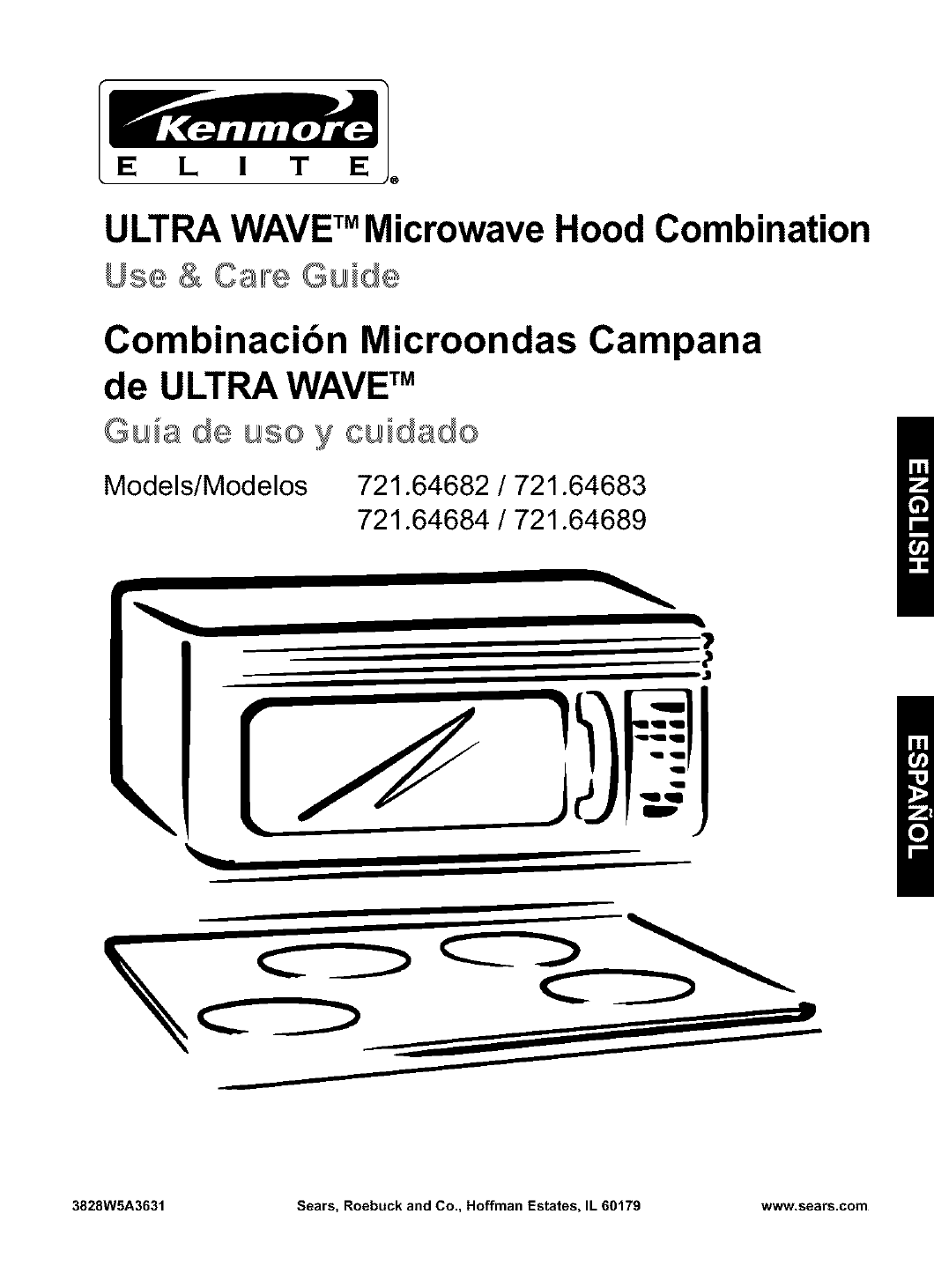 kenmore microwave oven 721 64684 user guide manualsonline com