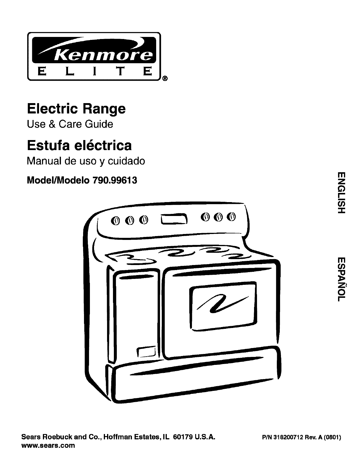 Kenmore Range Model C880 Manual Transfer