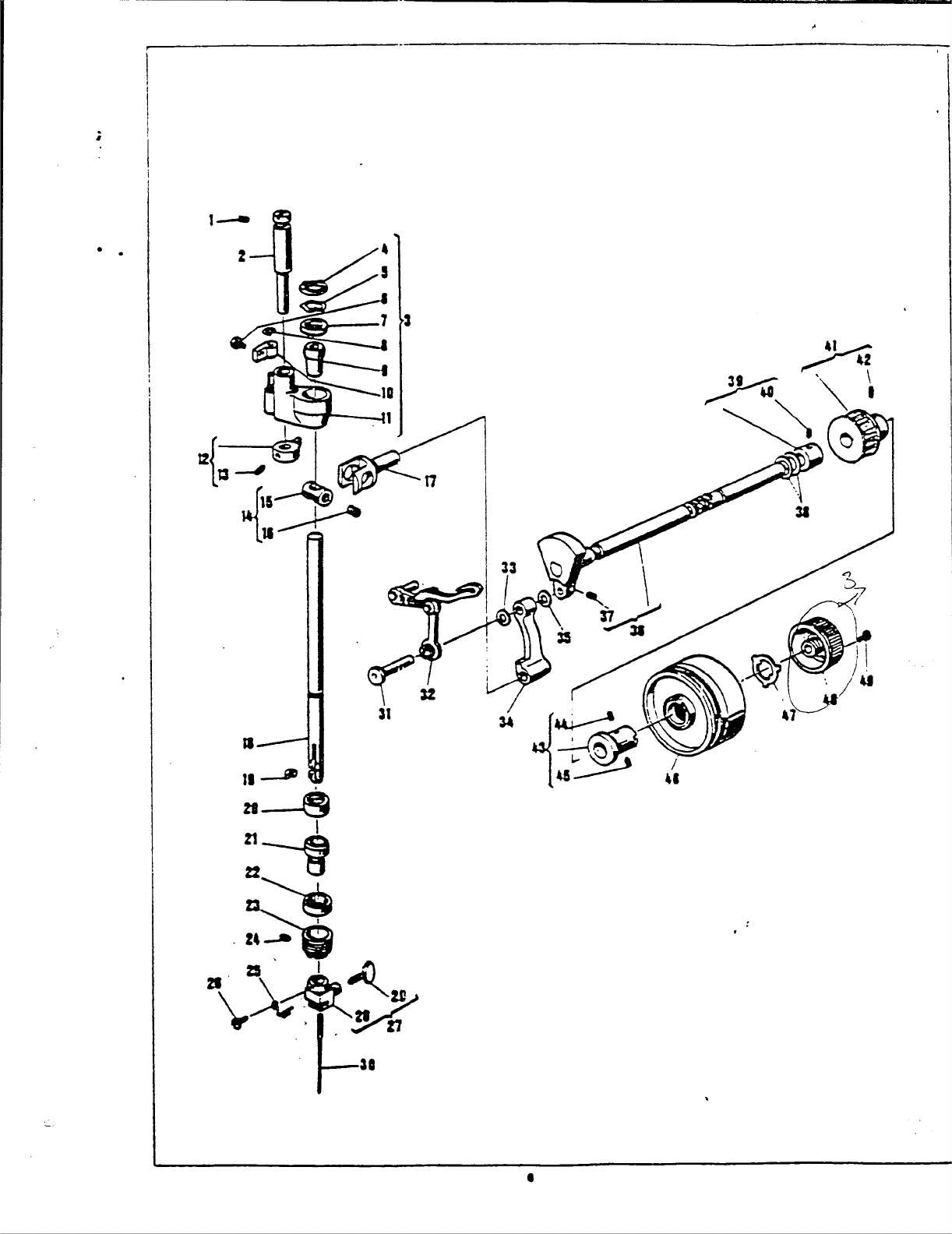 Page 8 Of Singer Sewing Machine User Guide