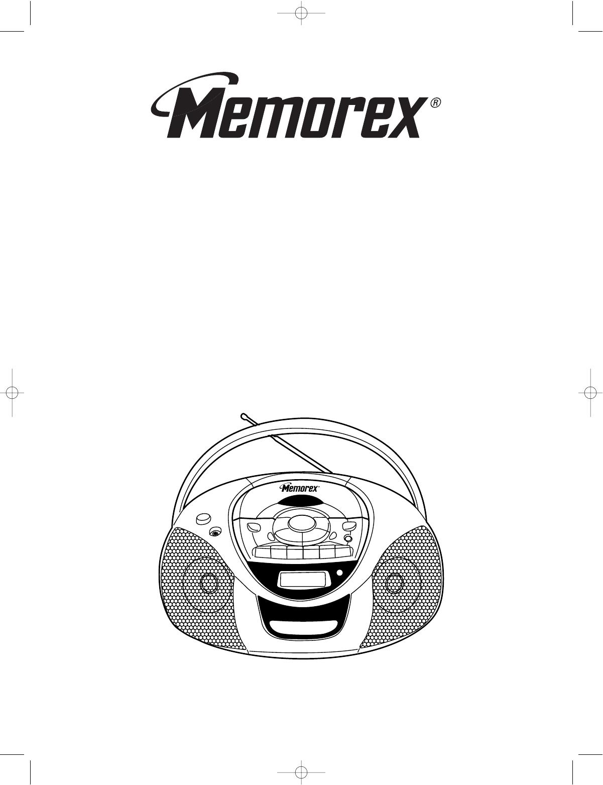 Memorex Cd Player Mp User Guide