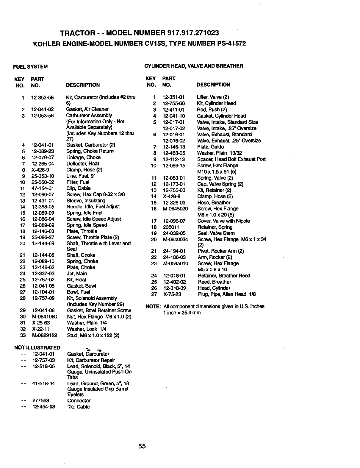 Page 55 Of Craftsman Lawn Mower 917 User Guide