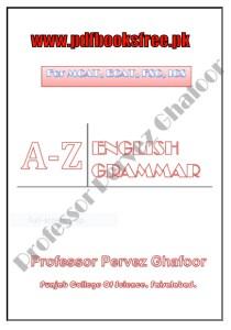 A-Z English Grammar Notes By Professor Pervez Ghafoor
