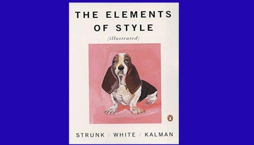 Elements Of Style Book