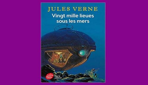 Vingt Mille Lieues Sous Les Mers Book