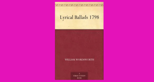 lyrical ballads pdf