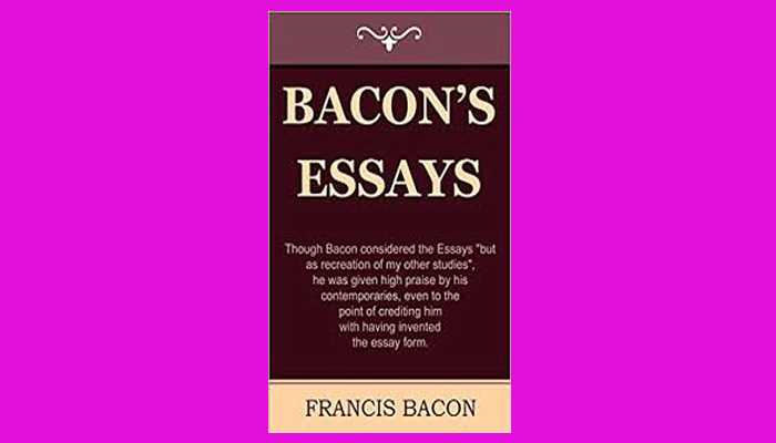 Francis Bacon Essays Pdf