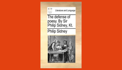 sidney defense of poesy pdf
