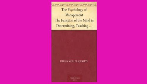 the psychology of management pdf