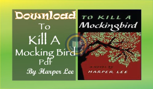 to kill a mockingbird pdf download harper lee