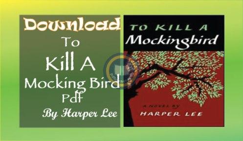 to kill a mockingbird pdf download harper lee