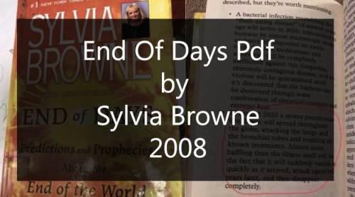 End Of Days Pdf free Download