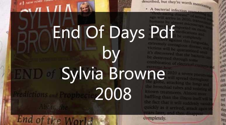 End Of Days Pdf free