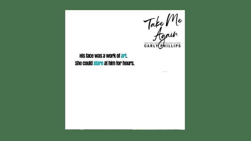 Take Me Again pdf