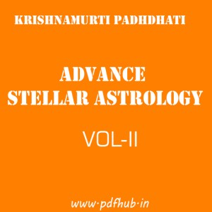 ADVANCE Steller Astrology Vol-2