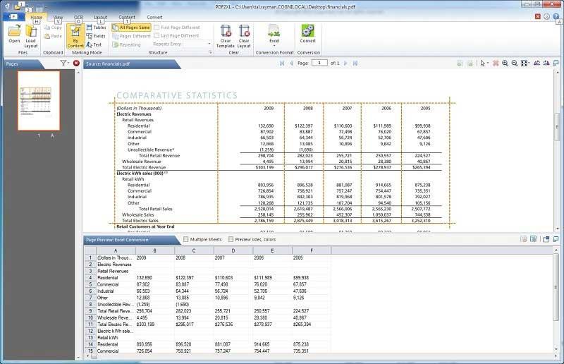 كيف يمكنك تحويل Pdf الى Excel Wondershare Pdfelement