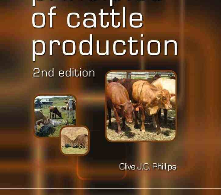 Principles of Cattle Production 2nd Edition PDF