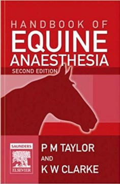 Handbook of Equine Anaesthesia 2nd Edition