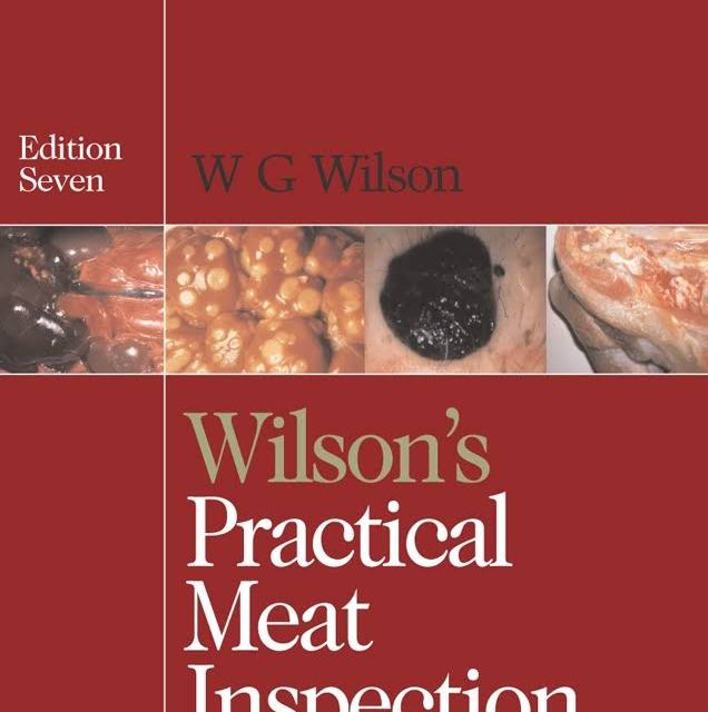 Wilson's Practical Meat Inspection 7th Edition PDF