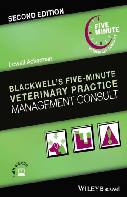 Blackwell's Five Minute Veterinary Practice Management Consult 2nd Edition