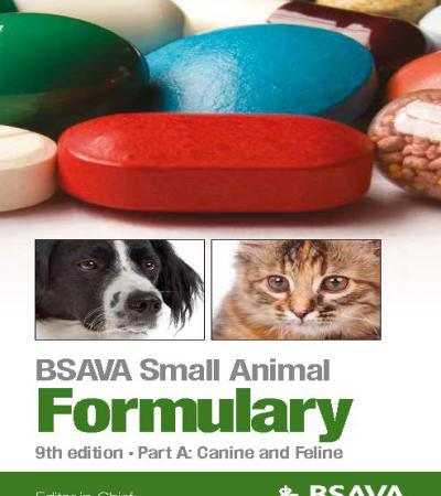 Small Animal Formulary, Part A, Canine And Feline, 9th Edition