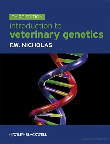 Introduction to Veterinary Genetics 3rd Edition