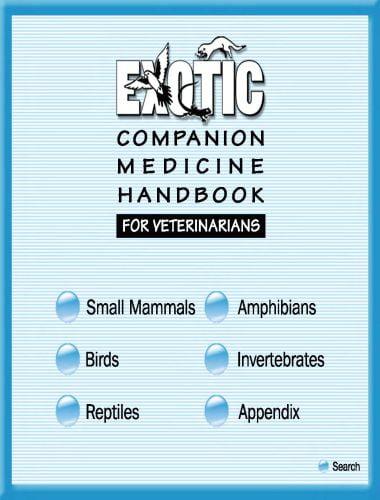 Exotic Companion Medicine Handbook For Veterinarian