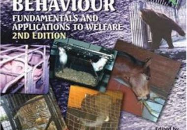 Stereotypic Animal Behaviour 2nd Edition