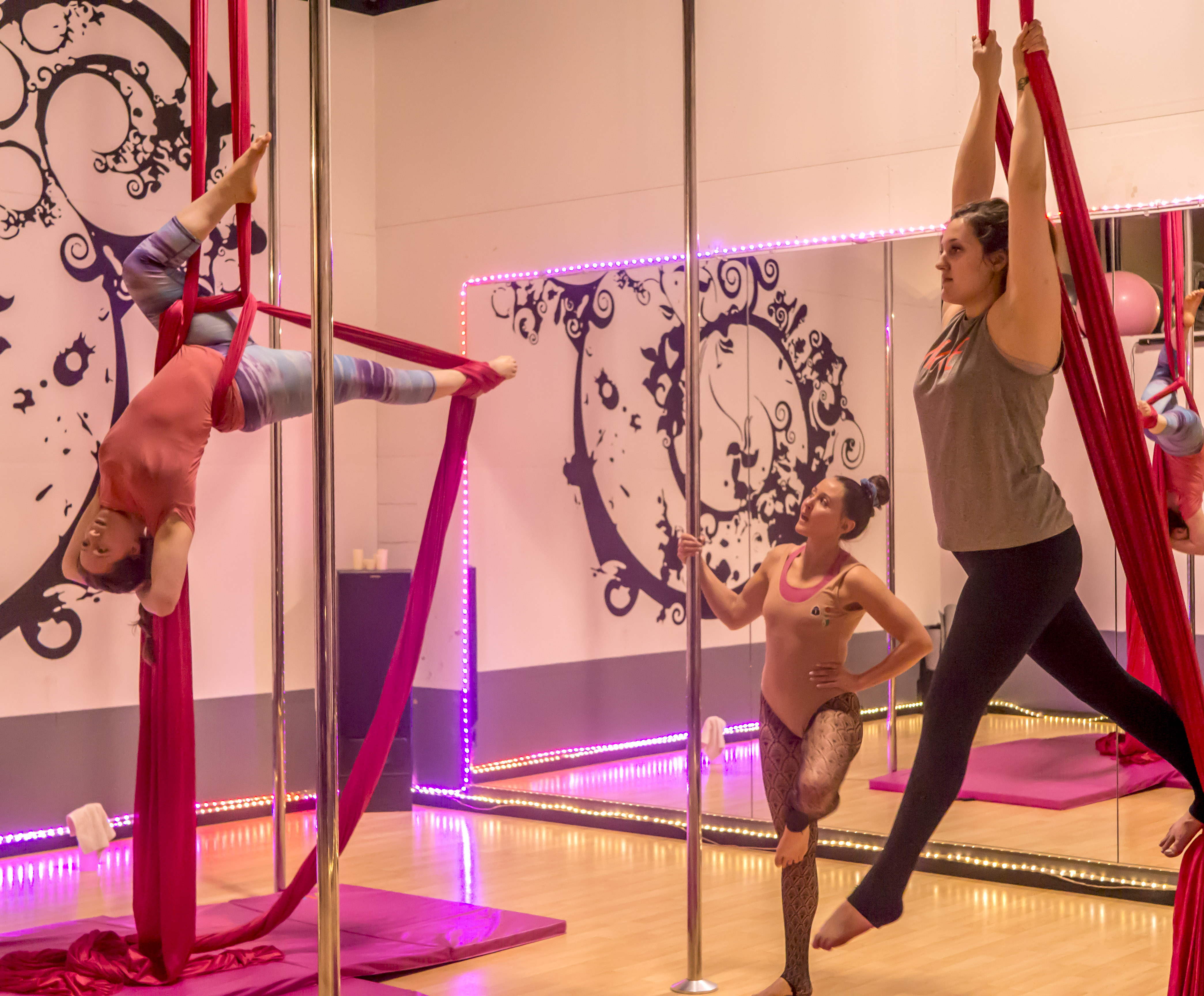 Pole Dance & Fitness Rogue Valley - Aerial Silks