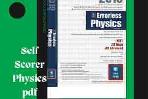 Universal Self Scorer Physics pdf free download