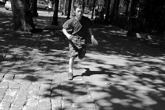 «Kid_running» by  Michael Wimpee - Own work. Licensed under Public domain via flickr.com