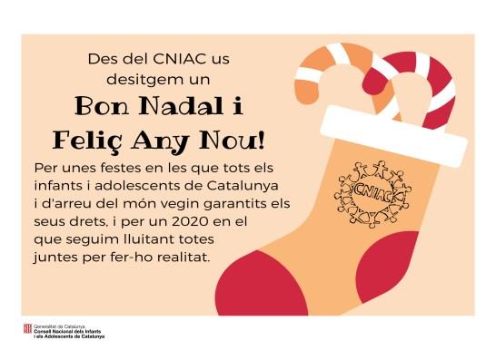 El CNIAC us desitja bones festes!