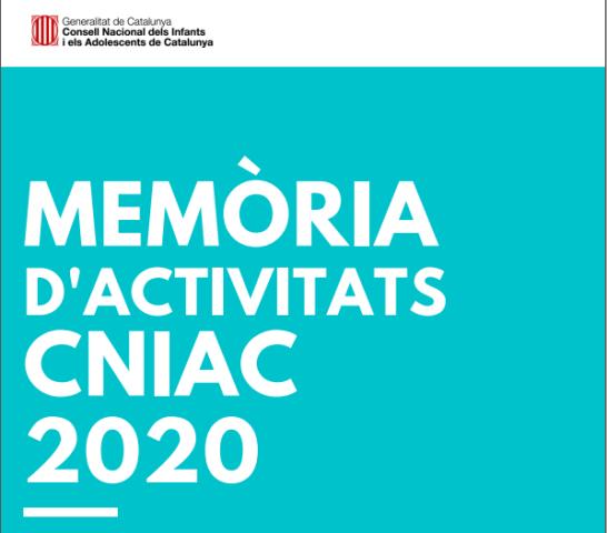 1M – Memòria d'activitats CNIAC 2020