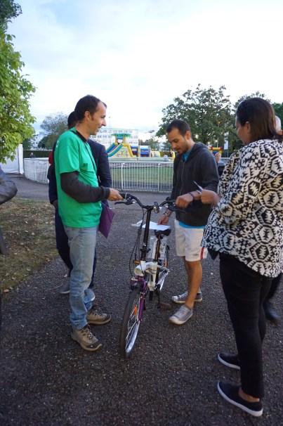 Le vélo pliant offert par NB Tech