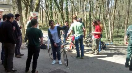 Le Grand Nancy était présent pour donner des informations sur le vélo