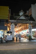 The entrance to the Chiang Rai night bazaar & food court
