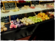 A storefront with delicious macarons in Grasse