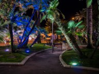 A small park near the Croisette and the Palais des Festivals, Of course palms are planted there