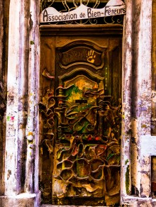 Even some doors are unique and magnificent